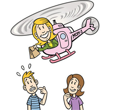issue of hovering parents Helicopter parents, stop hovering: herself has been on the receiving end of such calls more than once) do they intervene if you have a roommate issue.