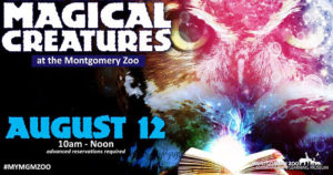 Magical Creatures at Montgomery Zoo