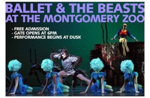 Montgomery Ballet Presents Ballet and the Beasts @ Montgomery Zoo | Montgomery | Alabama | United States