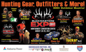 Buckmasters Expo 2017 @ Renaissance Montgomery Convention Center | Montgomery | Alabama | United States
